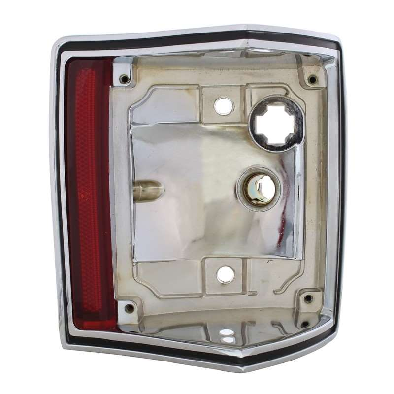 1970-72 El Camino / Station Wagon Chrome Tail Light Housing - Right Hand | Lighting Hardware