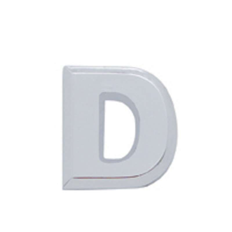 Chrome Letter - D | Letters / Scripts