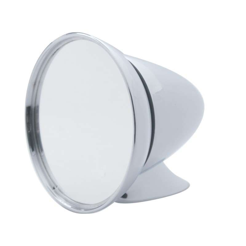 Large Chrome GT Mirror - Universal Application | Exterior Mirrors