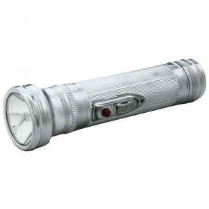 Vintage Metal Flashlight | Incandescent Chrome Flashlight